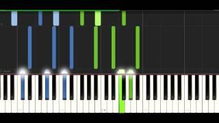 Tobu - Mesmerize - Synthesia piano tutorial