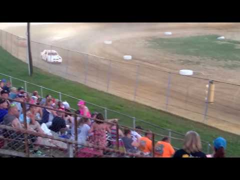 Pure stock heat race two at twin cities raceway park 6/10/17