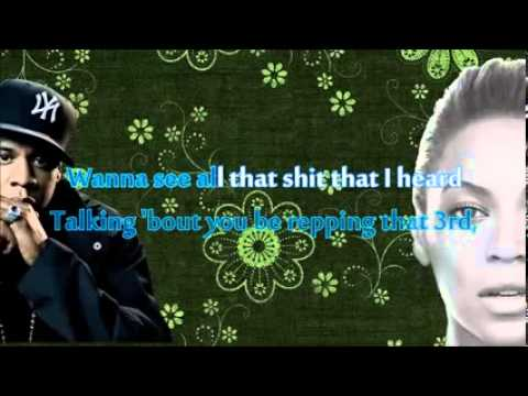 Beyoncé   Drunk In Love Karaoke with lyrics Ft Jay Z Official Video