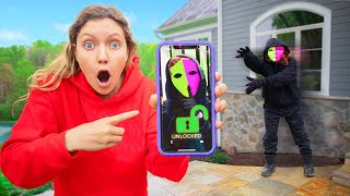 FOUND MYSTERY NEIGHBOR LOST iPhone !!! (Unlocked Hidden Secret Clues)