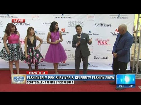 Phoenix Fashion Week begins with a Fashionably Pink Celebrity Fashion Show