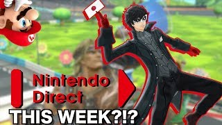 Joker and Nintendo Direct THIS WEEK?!?