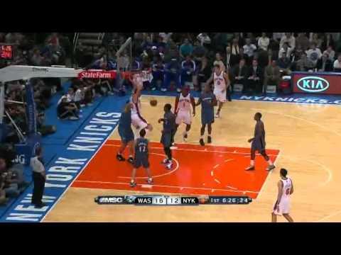 Clip NBA 2010 2011  05 11 2010  Washington Wizards @ New York Knicks01390321 43 19