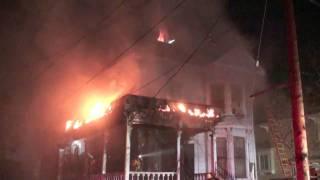 LAFD / Estrella Victorian House Fire