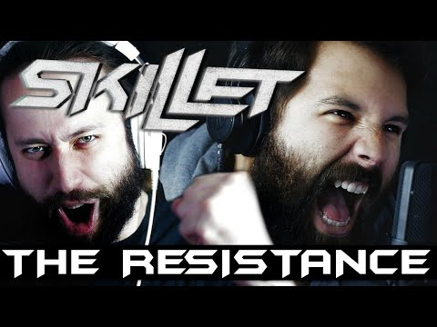SKILLET - THE RESISTANCE (Metal Cover) By Caleb Hyles & Jonathan Young