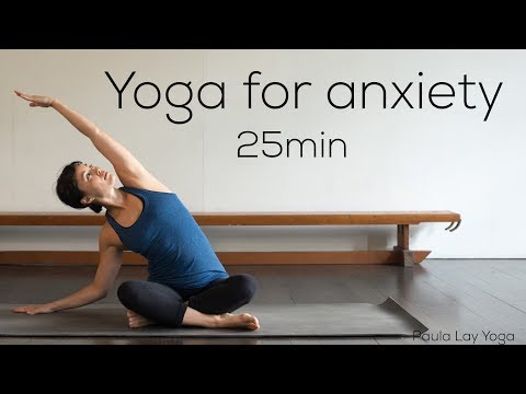 Yoga for anxiety (25min)