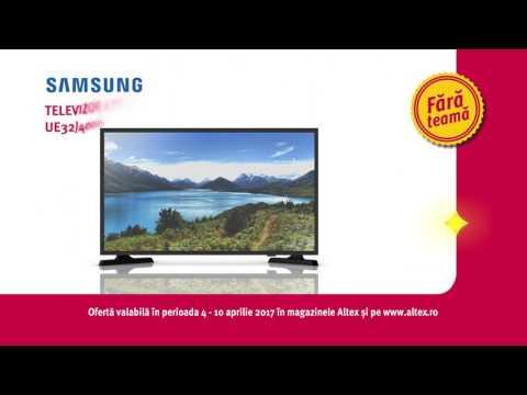 Reclamă ALTEX - TV Samsung - aprilie 2017