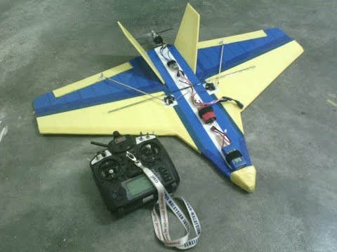 Fast Delta RC Plane at German-Malaysian Institute Bangi (Malaysia)