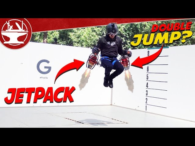I Made a Jet Pack!  (ONE DAY BUILD)