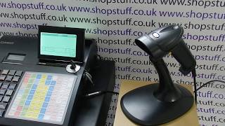 For more information visit: https://www.shopstuff.co.uk viper single beam barcode scanner use with the casio se-c450 scanner. informatio...