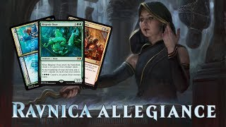 Daily Ravnica Allegiance Spoilers — January 10, 2019 | Biogenic Ooze, Captive Audience