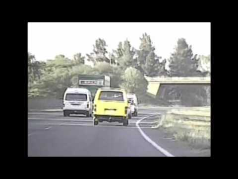 Reckless Taxi Driver R59 Freeway Gauteng South Africa