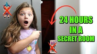 24 Hours In a SECRET ROOM! 24 Hours With NO LOL DOLLS 24 Hour Challenge For Kids