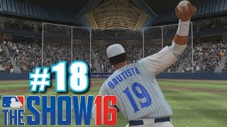 JOSE BAUTISTA PITCHES! | MLB The Show 16 | Diamond Dynasty #18