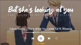 This Is What You Came For - Calvin Harris ft. Rihanna (Lyrics Terjemahan) TikTok Song