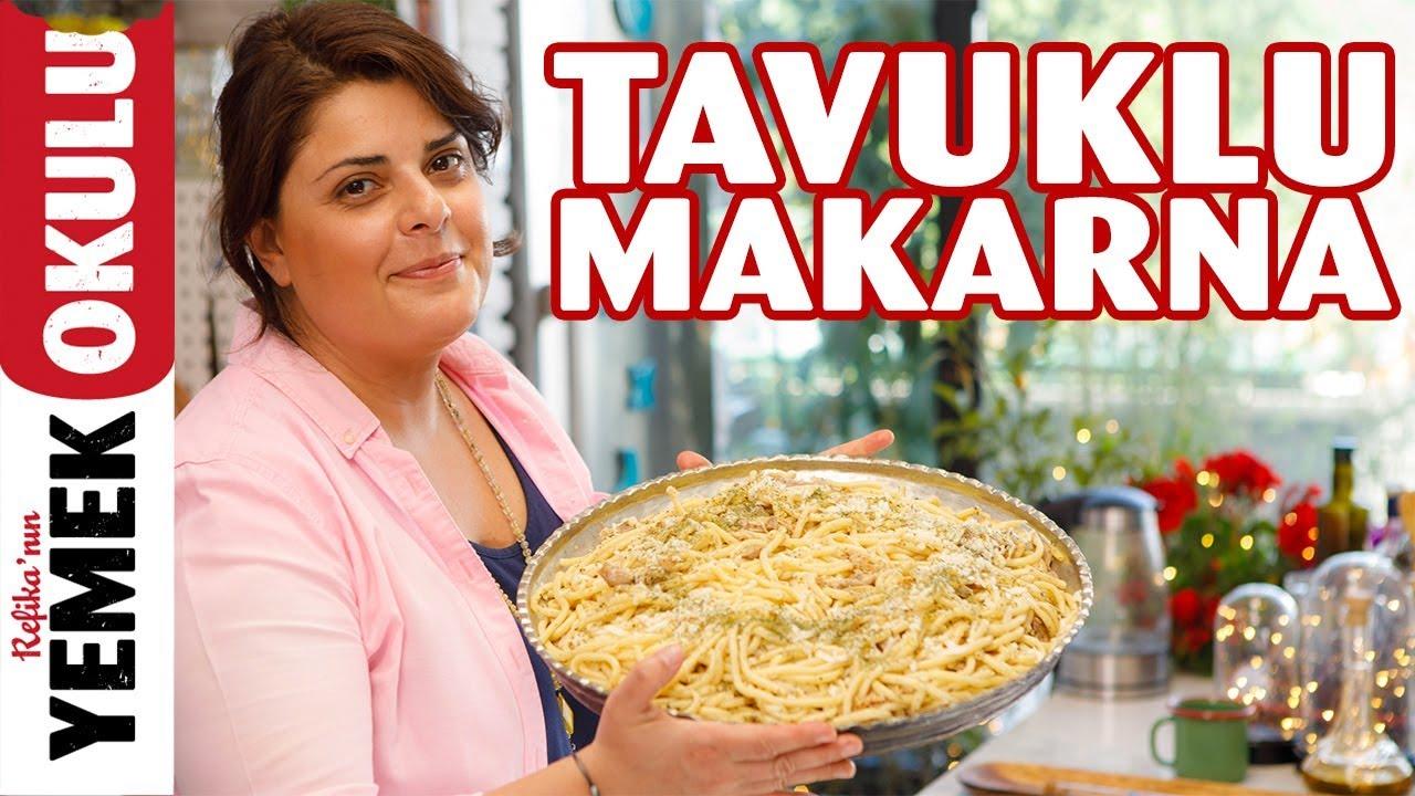 Tavuklu Makarna Tarifi | Aile Yadigarı Kıbrıs'ın ''Magarina Bulli'si''