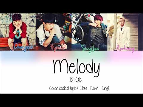 BTOB (비투비) – Never Ending Melody (끝나지 않을 Melody) lyrics [Han / Rom / Eng]