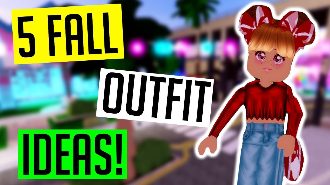 [VIDEO] - 5 FALL ROYALE HIGH OUTFIT IDEAS! 1