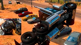 American Truck Sim MODS -4500Hp 6 Spd Kenworth -Can We Drift? | SLAPTrain