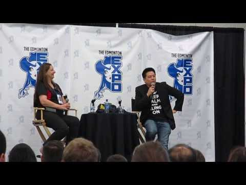 Edmonton Comic Expo 2013: Garrett Wang (ST:VOY) Part 2