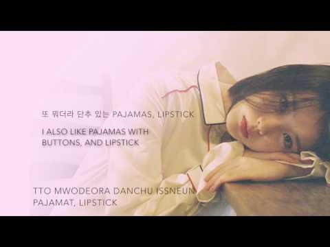 IU (아이유) (ft. G-DRAGON) - 'Palette (팔레트)' [Han|Rom|Eng lyrics]