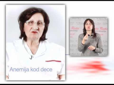 hipertenzija su anemija