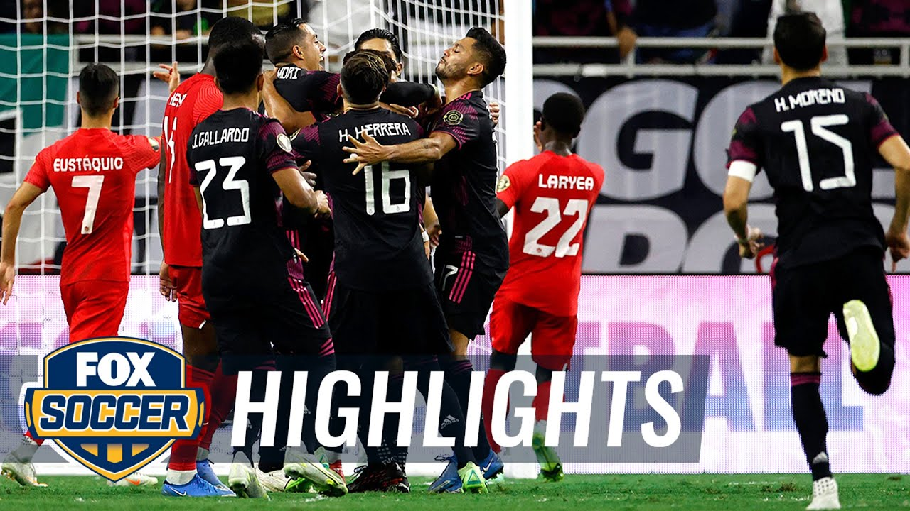 Herrera's late winner lifts Mexico over Canada, 2-1, sets up US rematch   2021 Gold Cup