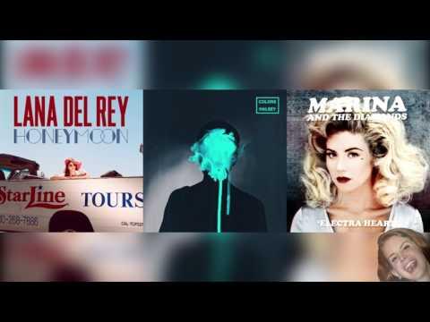Electra Heart x Burnt Norton x Colors, Pt. II - LDR, MATD, & Halsey Mashup
