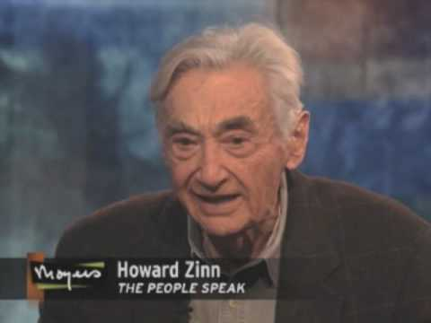 The People Speak: Howard Zinn on Moyers Journal (1/3)