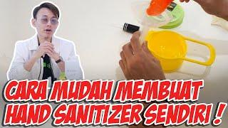 """Oke ges, di video kali ini gua mau bikin """"diy hand sanitizer"""" yang bisa kalian buat dengan mudah, resep dapat dari website who liat resep..."""