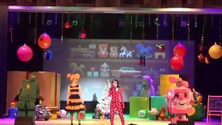 Новогоднее представление для детей/ новогодняя сказка/ Леди Баг, робокар Эмбер, кукла Лол