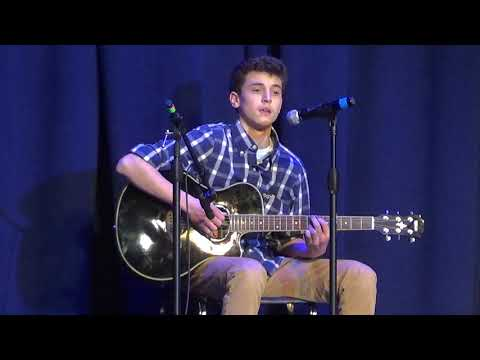 Nick-Thinking Out Loud-Irondequoit High School Talent Show 2019