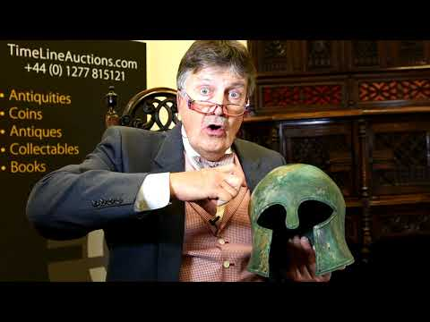 Greek Corinthian Helmet with Tim Wonnacott 0308