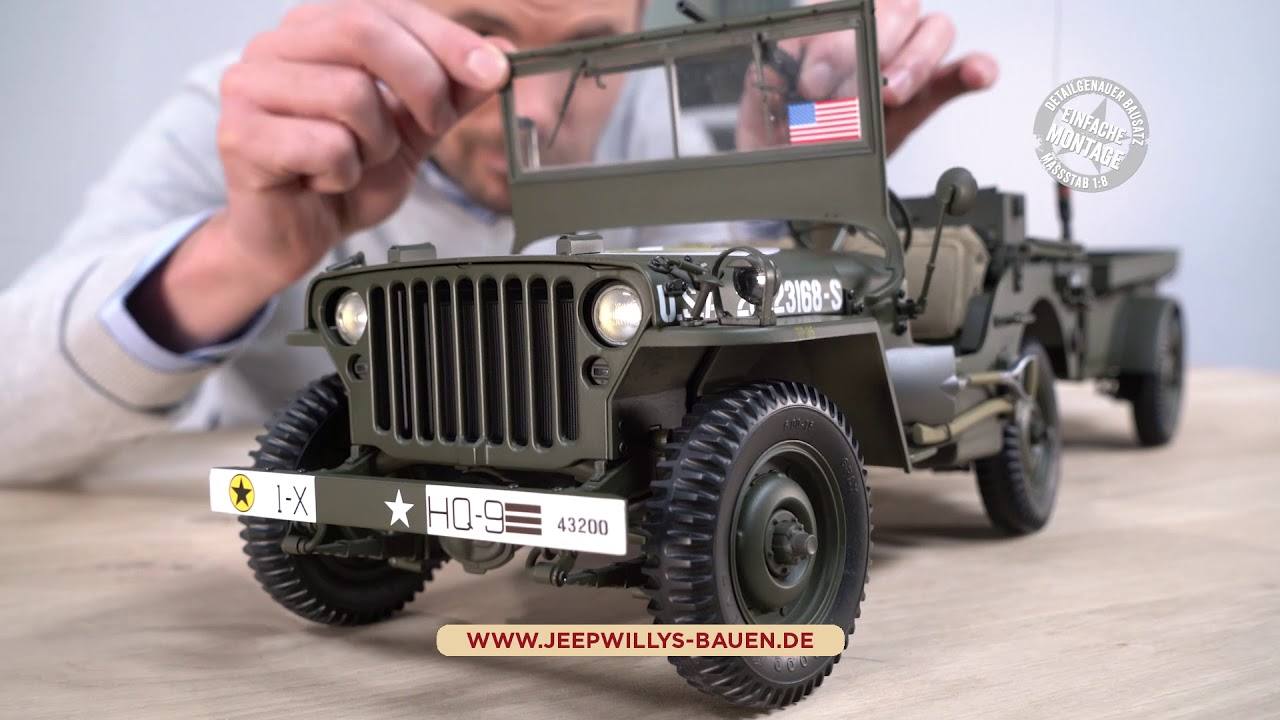 hachette willys mb jeep youtube. Black Bedroom Furniture Sets. Home Design Ideas