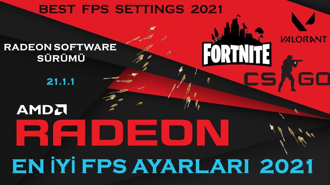 FORTNİTE *YENİ* FPS ARTTIRMA 2021!! / NVİDİA / AMD / İNTEL / PC / LAPTOP