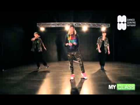 MYCLASS Macklemore  Ryan Lewis   Thrift shop hip hop choreography tutorial by Tanya Gaidar   DCM