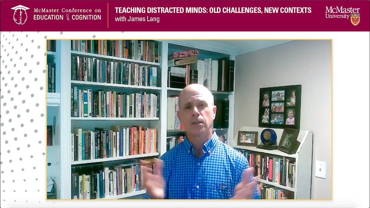 Image for Teaching Distracted Minds: Old Challenges, New Contexts with James Lang webinar