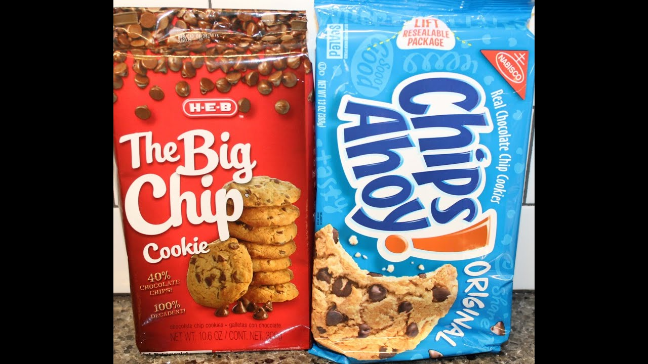 oreos v s chips ahoy Oreos because they taste better also, the first time i had chips ahoy, i was sick and vomited after i ate the chips ahoy i don't eat them because they remind me of that.