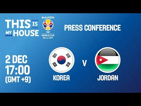 Korea v Jordan - Press Conference