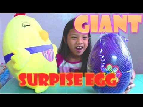 GIANT Surprise Egg: Adventure Time,...