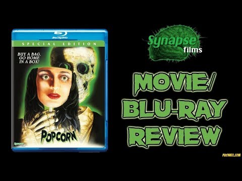 POPCORN (1991) - Movie/Blu-ray Review (Synapse Films)