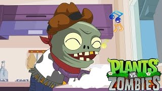 Plants vs. Zombies Animation : Wash dishes