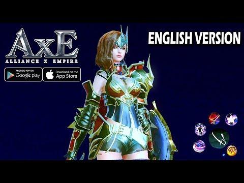 AxE: Alliance Vs Empire - English Version By NEXON (Android/IOS Gameplay)