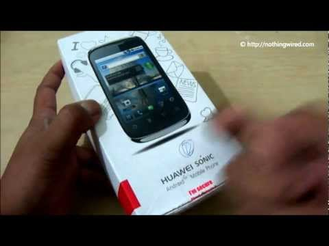 Huawei Sonic U8650 Review: Unboxing