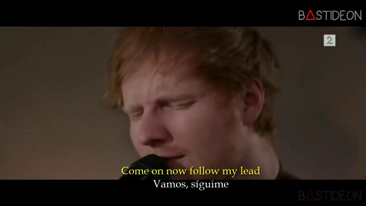 Ed Sheeran Shape Of You Sub Espanol Lyrics