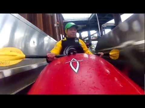 Kayaking Symonds Yat & Cardiff International Whitewater Centre