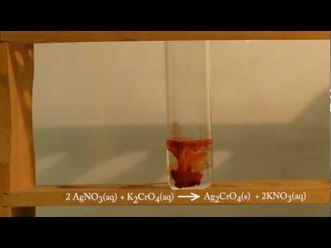 Precipitation Of Silver Chromate