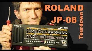 ROLAND JP-08 TEARDOWN a look inside the synthesizer MF#58