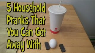 5 Household Pranks That You Can Get Away With! | Nextraker
