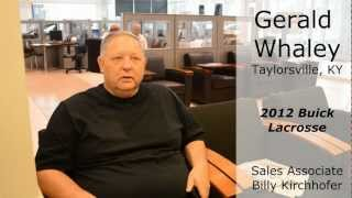 Louisville Buick: Sam Swope Buick - Customer Review - Gerald Whaley
